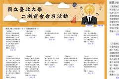 臺北大學宿舍命名「是在哈樓」票數領先 網笑翻:贏定了!