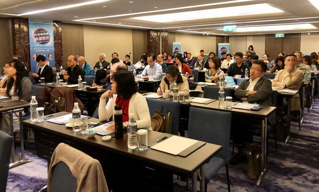 多達70位聽眾參與論壇,共同進修與交流。 北科大/提供