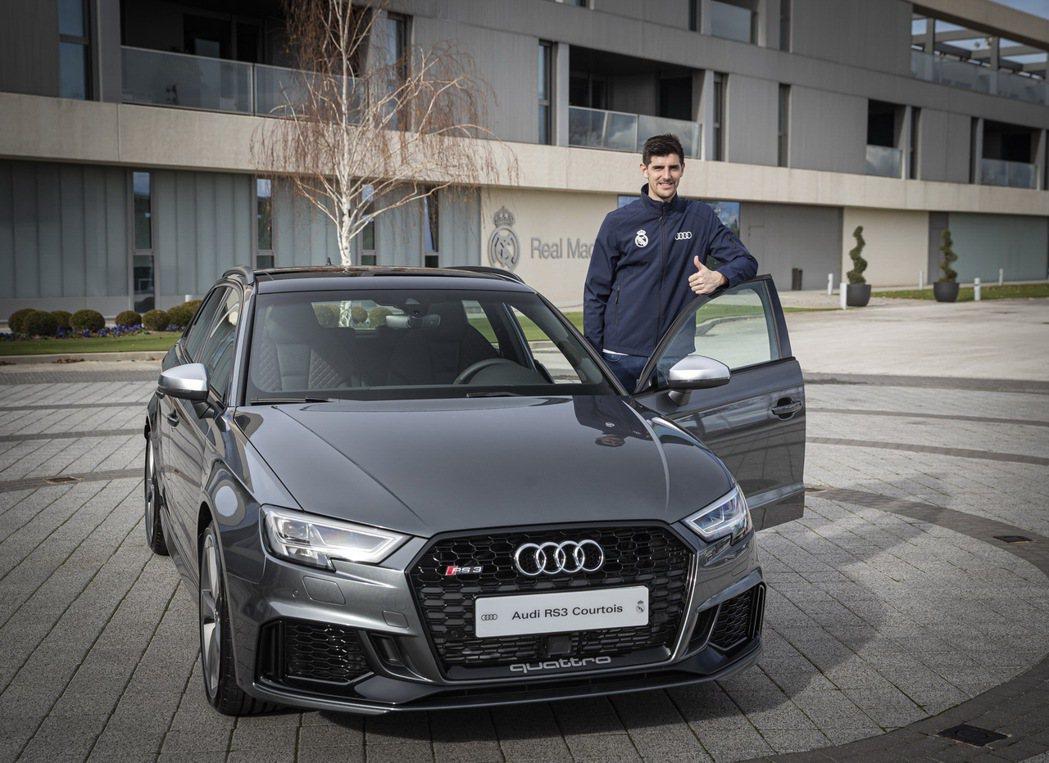 比利時門將庫爾圖瓦(Thibaut Courtois)選擇Audi RS3 Sp...