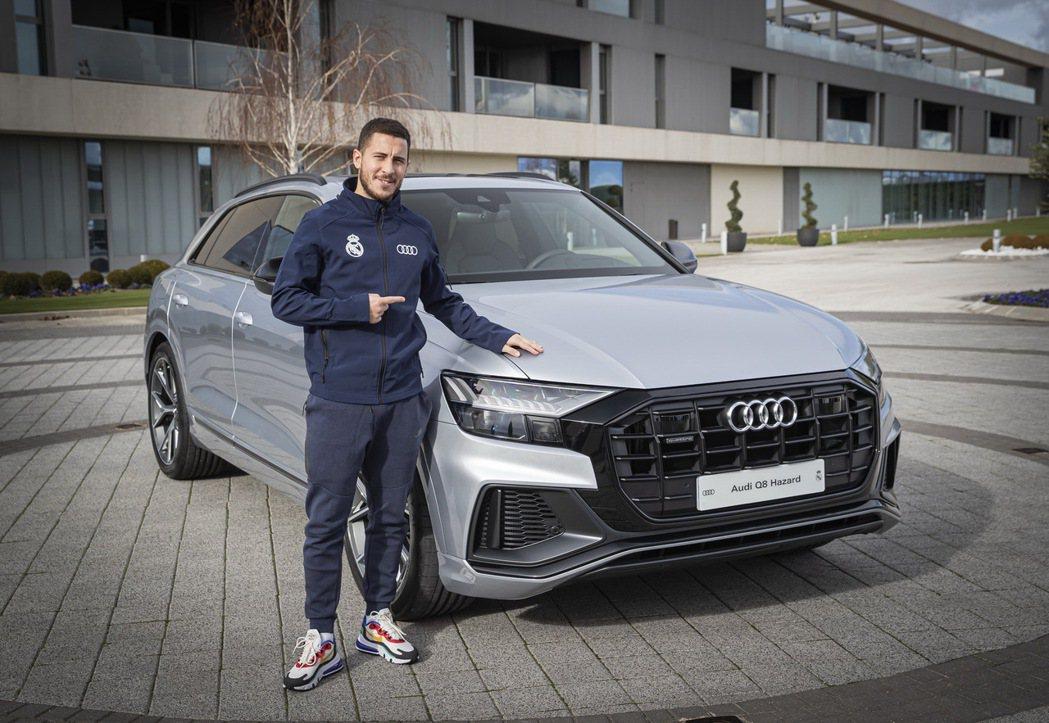 今夏轉隊到皇馬的比利時中場阿扎爾(Eden Hazard)選擇了旗艦休旅車Q8。...