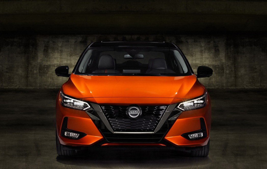全新Nissan Sentra美規車型。 圖/Nissan提供
