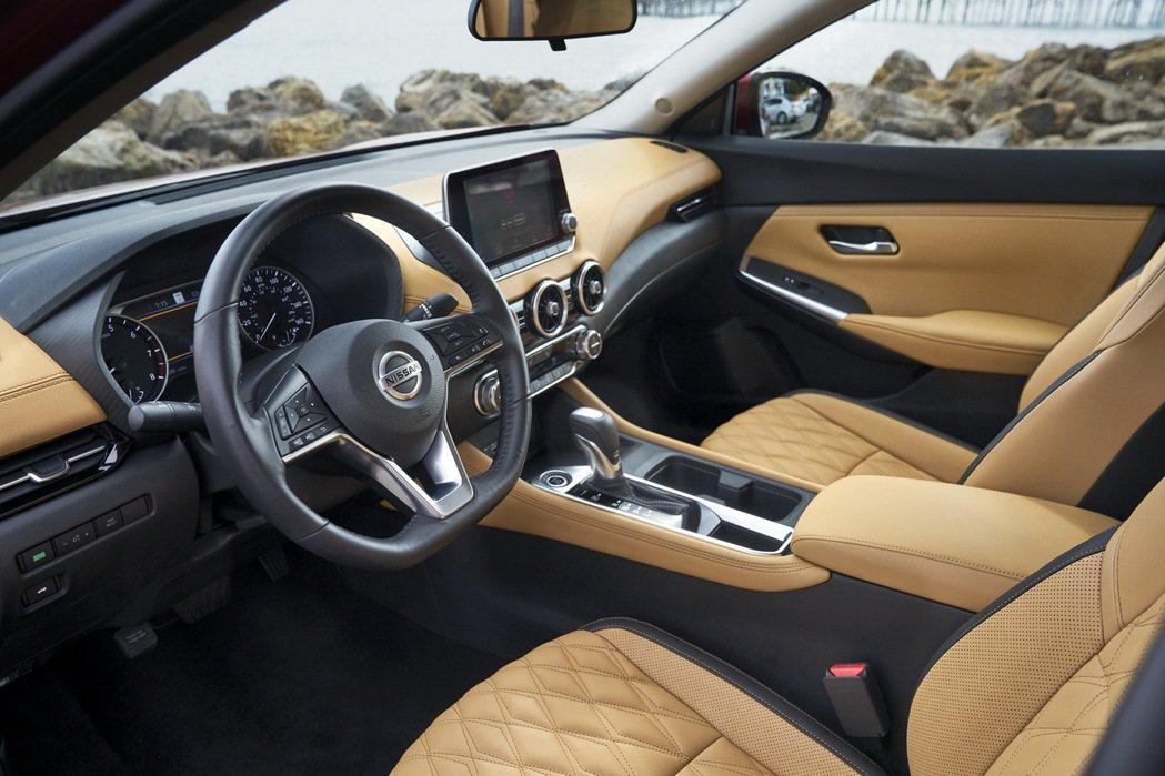 全新Nissan Sentra美國售價出爐。 圖/Nissan提供