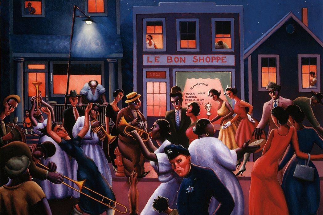 位於南區「黑人帶」(Black Belt)是當時芝加哥黑人文化的中心,不僅擁有許...
