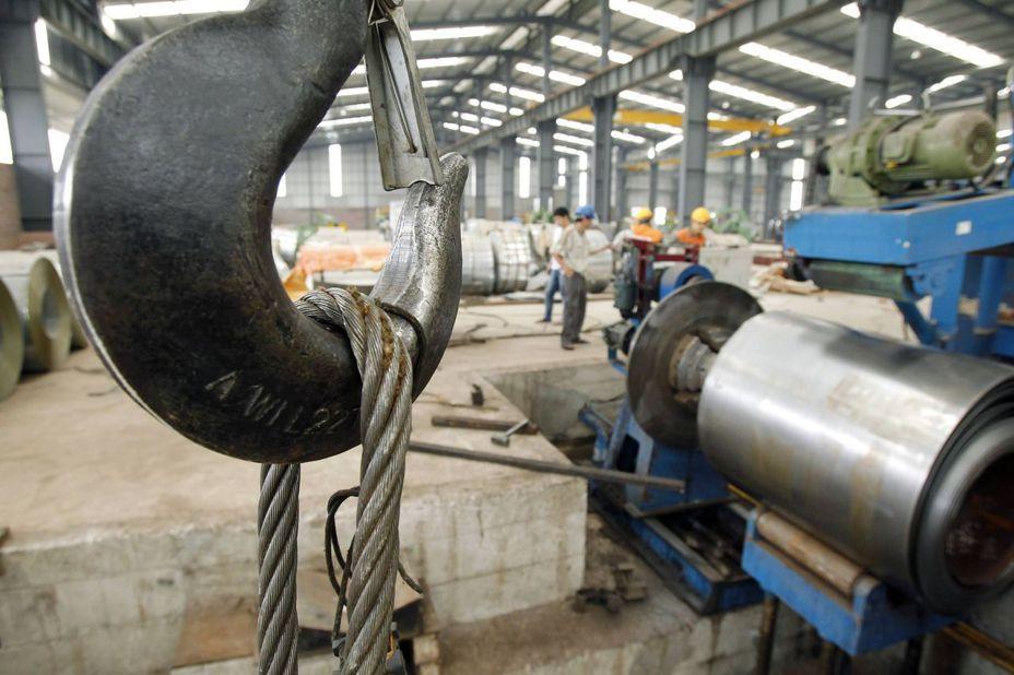 美商務部對洗產地的越南鋼品課徵高達456%的關稅。路透