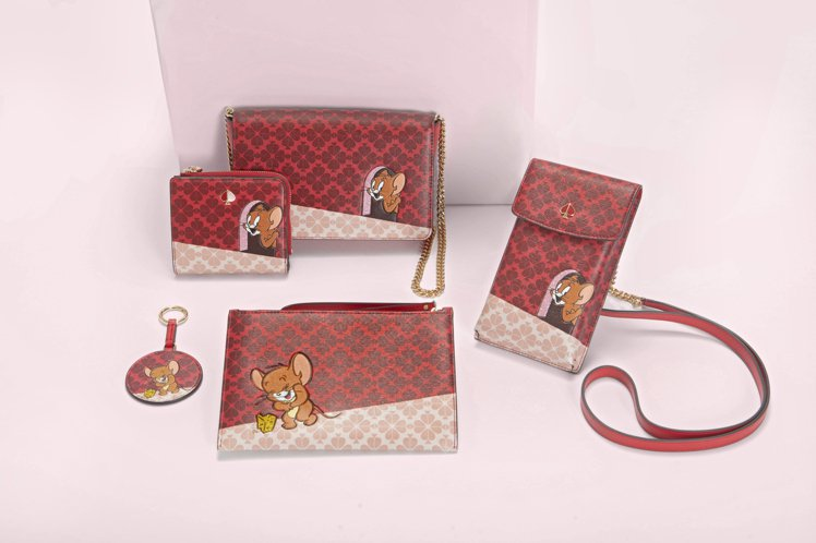 kate spade x Tom and Jerry配件系列。圖/kate sp...