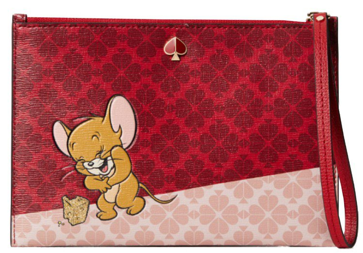 kate spade x Tom and Jerry小手袋,售價4,200元。圖...