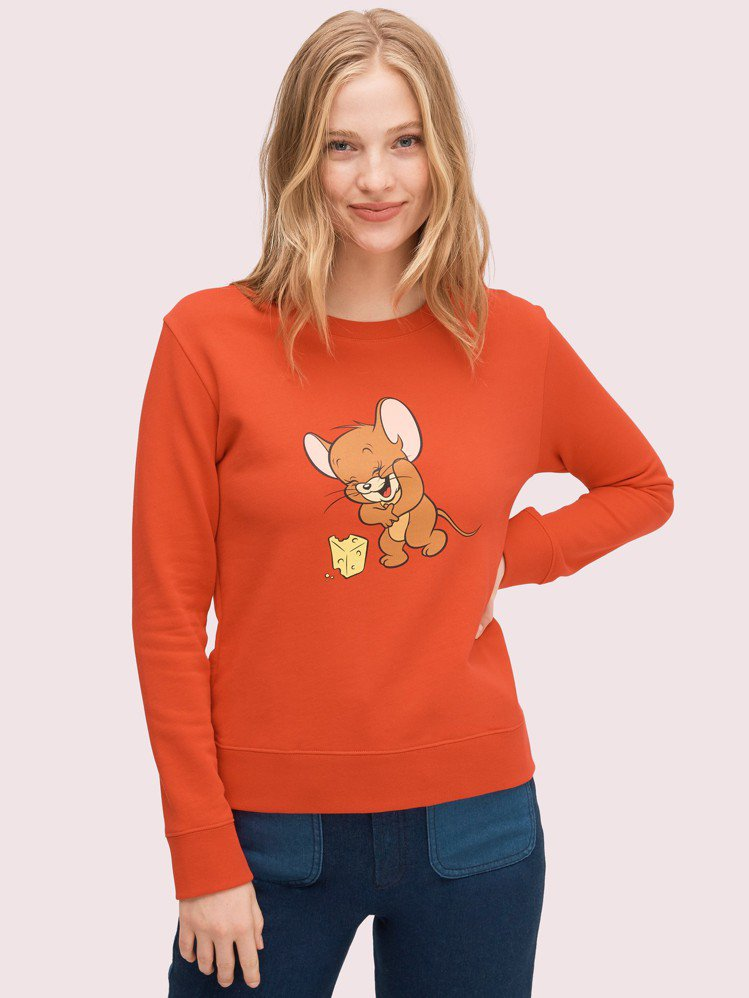 kate spade x Tom and Jerry長袖上衣,售價5,700元。...