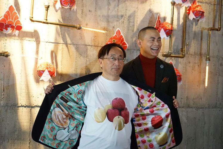 青森縣代表(圖左)也將青森特產「蘋果」穿上身。圖/LIZ提供
