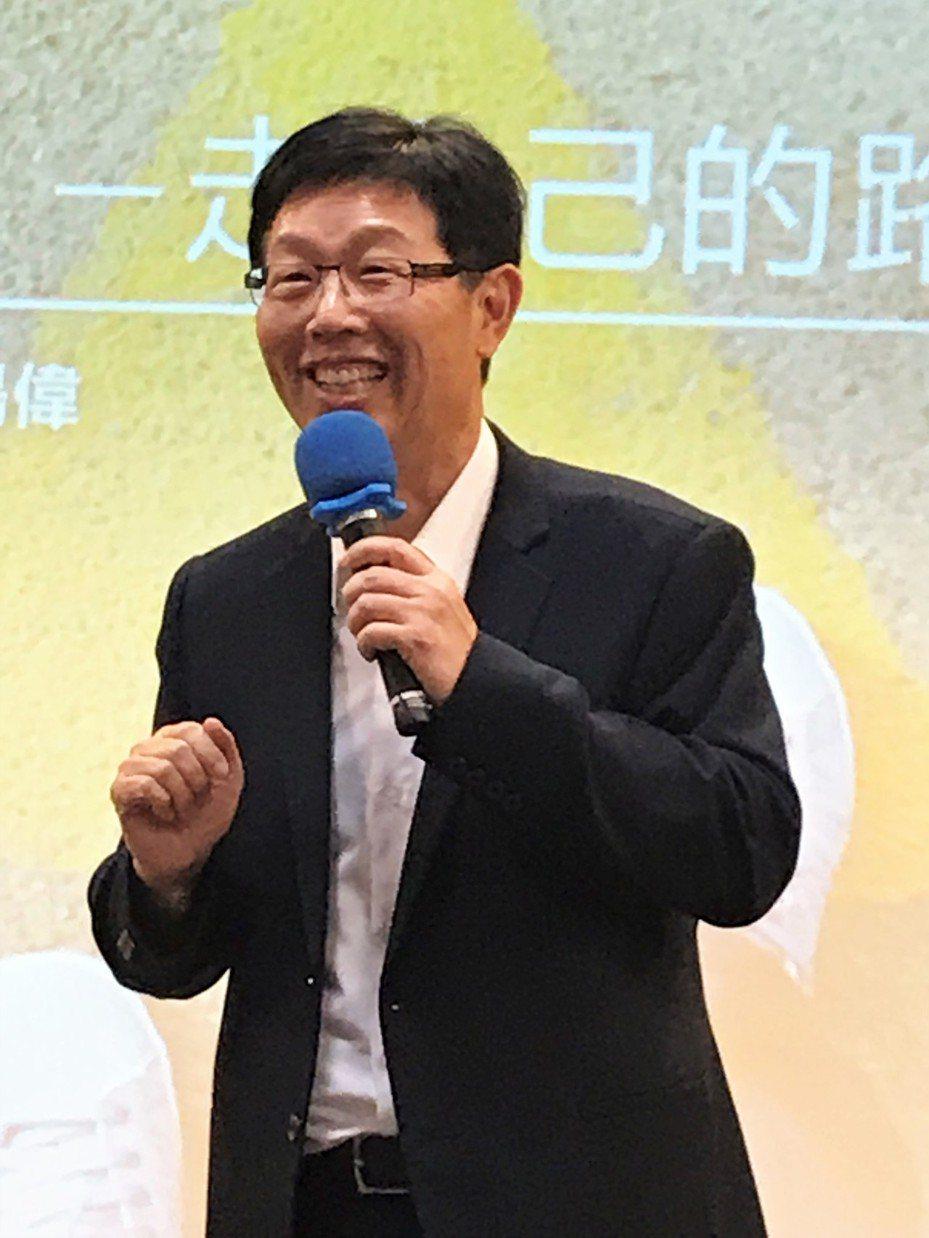 鴻海董事長劉揚偉。記者李珣瑛/攝影