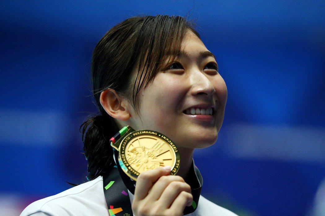 日本19歲天才泳將池江璃花子,抗癌10個月,獲國際奧會主席發文打氣。 路透