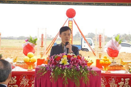 奇鼎科技董事長鄭智文。 楊連基/攝影