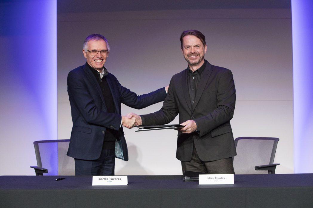FCA與PSA兩集團正式簽下合併協議,共組全球第四大汽車集團。 摘自FCA Gr...