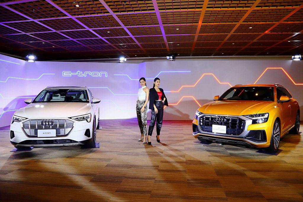 Audi公布【2020台北車展】展示陣容。 記者張振群/攝影