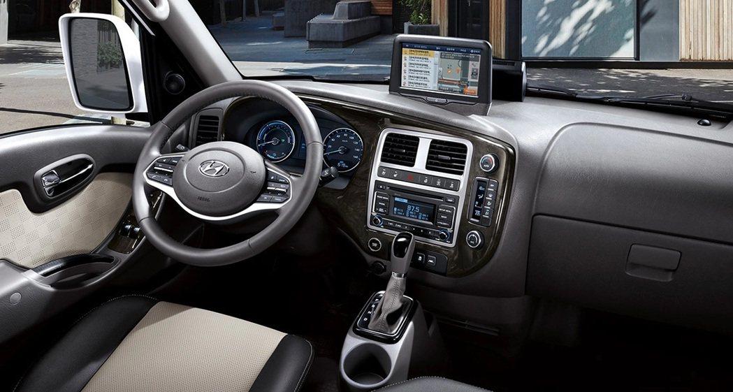 Hyundai Porter II Electric配置基本上與柴油版車型相差無...