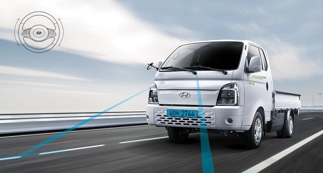 Hyundai Porter II Electric最大續航距離可來到211公里...