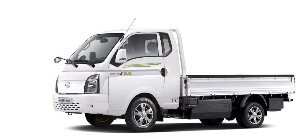 Hyundai Porter II Electric。 摘自Hyundai