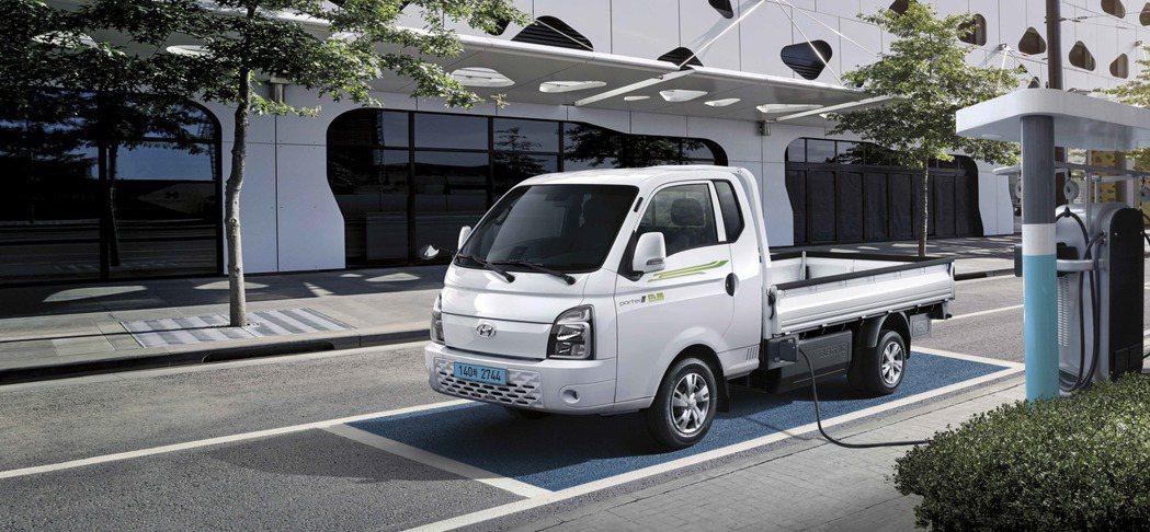 Hyundai Porter II Electric目前已於韓國正式上市,且在四...