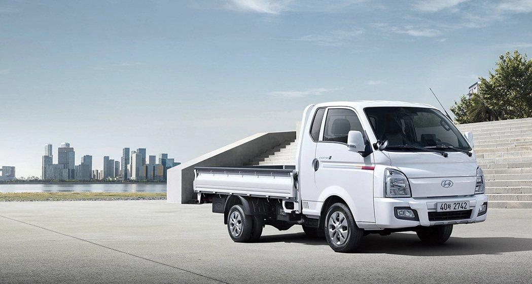 圖為Hyundai Porter柴油版車型。 摘自Hyundai