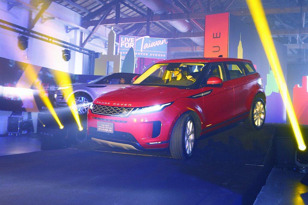 全新第二代Land Rover Range Rover Evoque登台開賣。 ...
