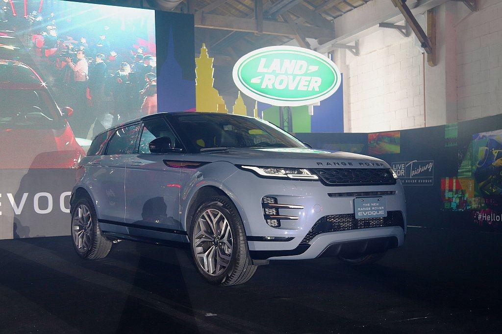 第二代Land Rover Range Rover Evoque全車系更標配完善...