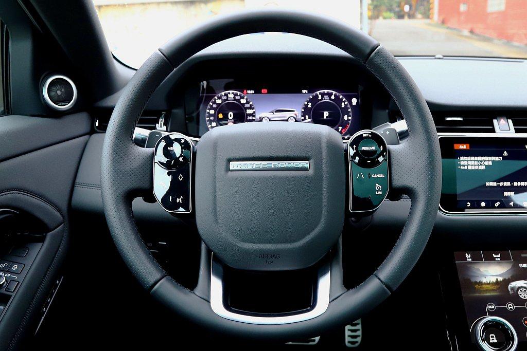 第二代Land Rover Range Rover Evoque方向盤兩側快捷鍵...