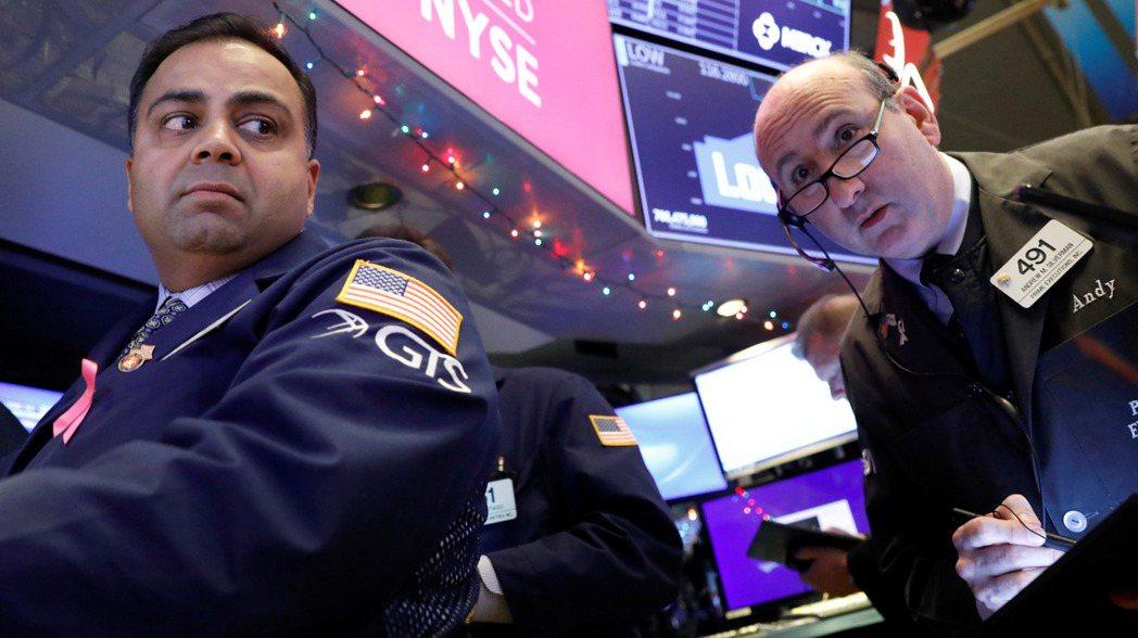 美股周二延續漲勢,再創紀錄新高。  (路透)