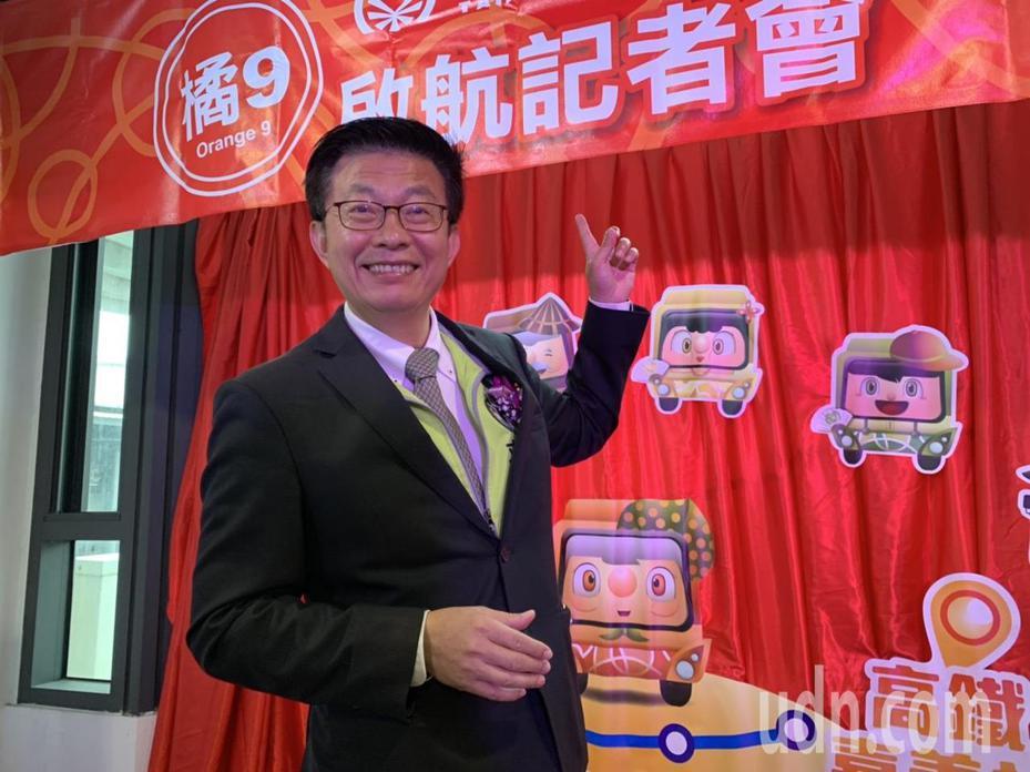 民進黨立委郭國文認為台南增設高鐵站可能性微乎其微,主張加強公車路網及未來先進運輸系統解決溪北交通不便。記者吳淑玲/攝影