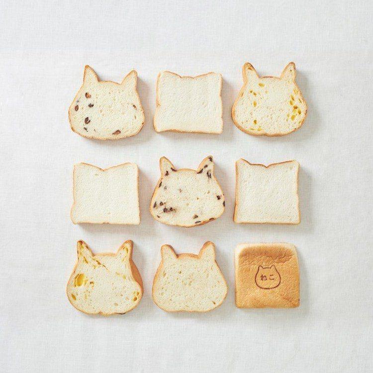 貓吐司標榜使用日本國產小麥與牛奶製作,不添加一滴水。圖/取自nekoneko_s...