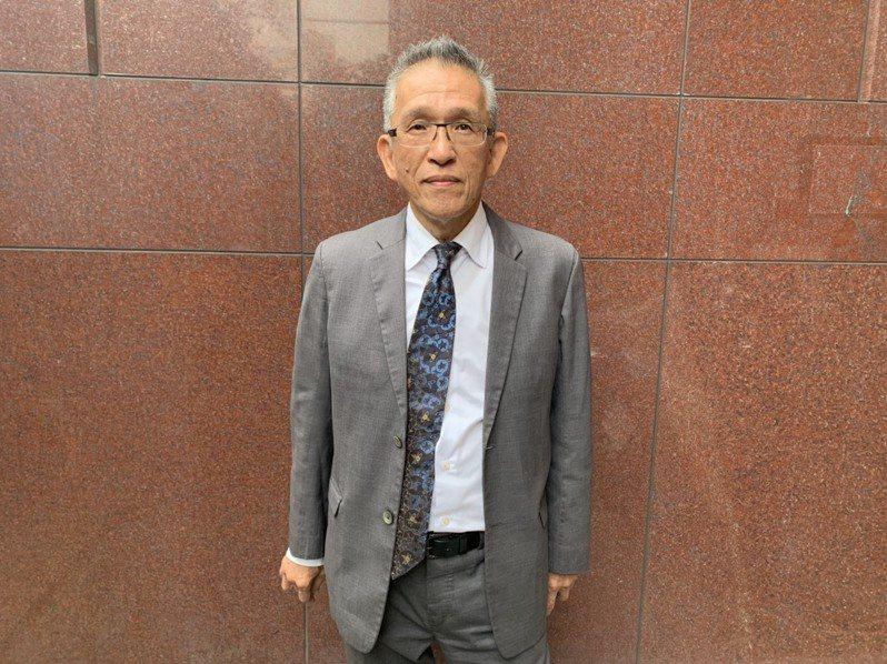 韓國瑜的告訴代理人、律師莊秀銘。記者王聖藜/攝影
