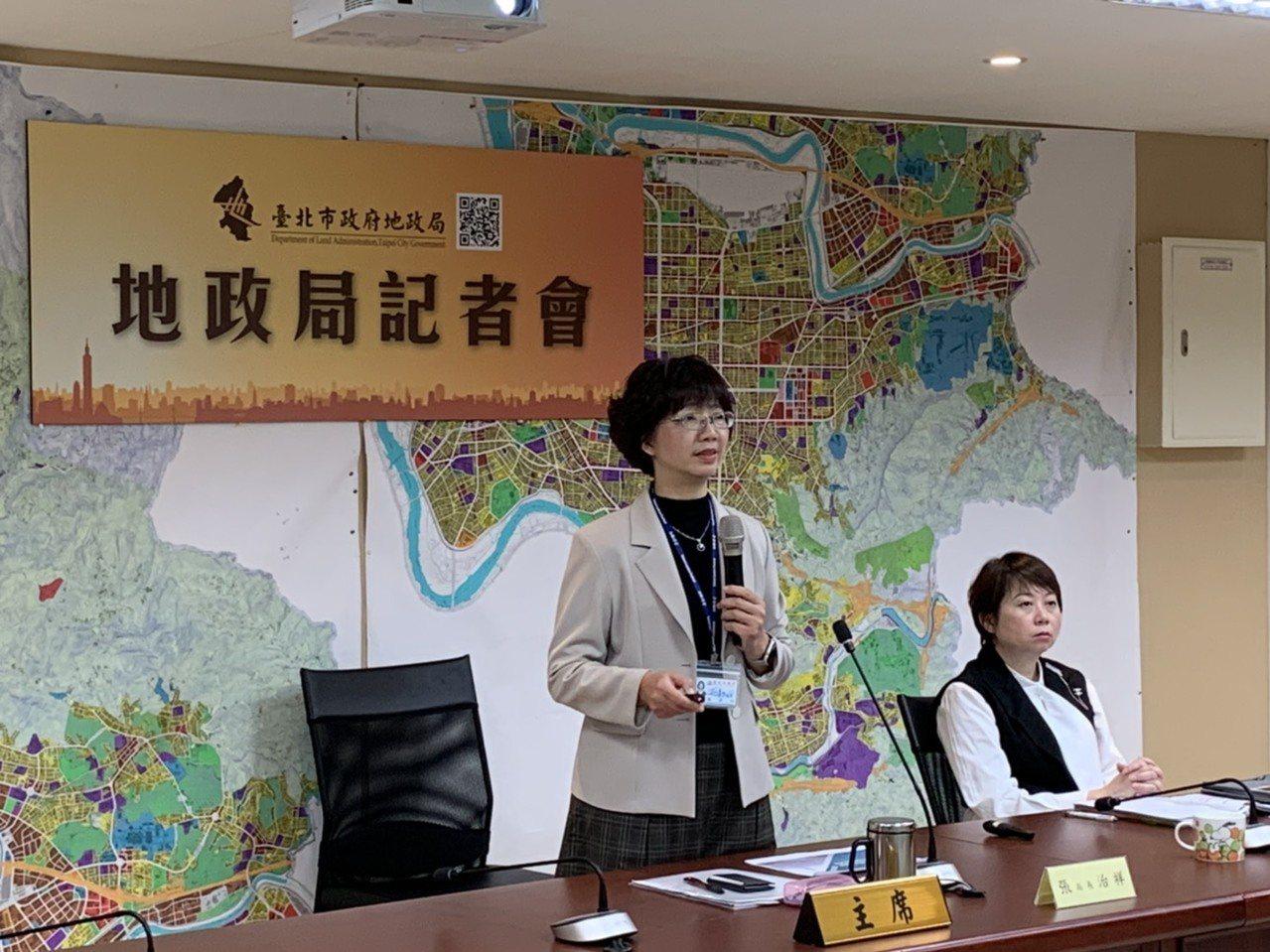 北市地政局長張治祥今(18)日表示,作為地價稅課徵基礎的公告地價則較2018年上...