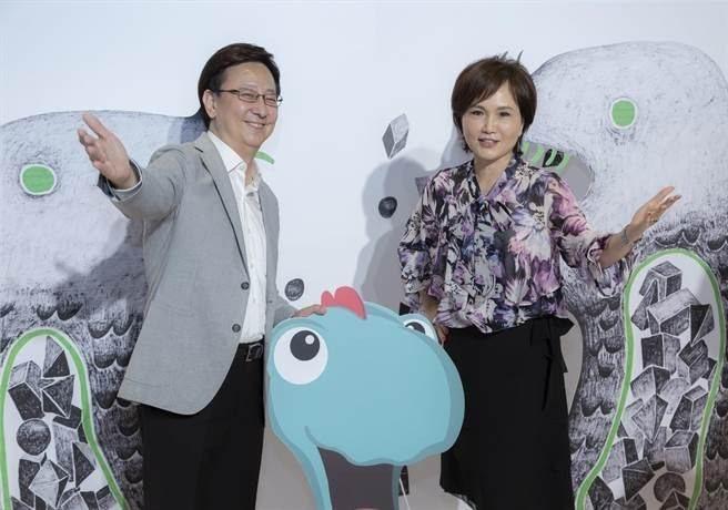 李四端(左)和沈春華將聯手主持新節目。圖/MOMO TV提供