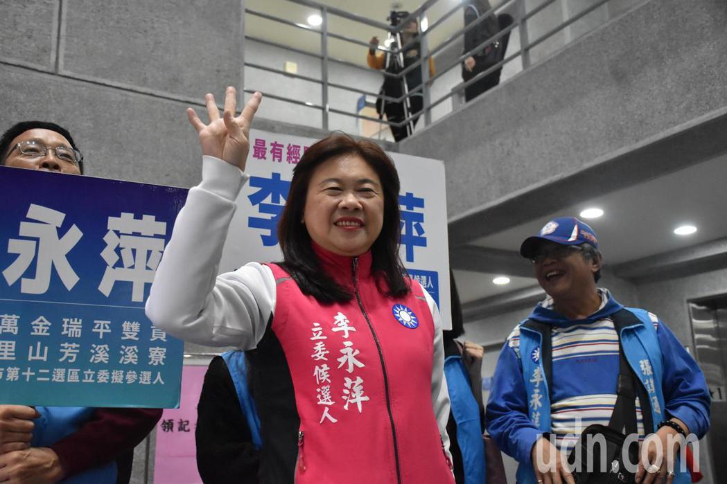 李永萍表示,要政見發表會或是辯論她都不排斥。記者江婉儀/攝影