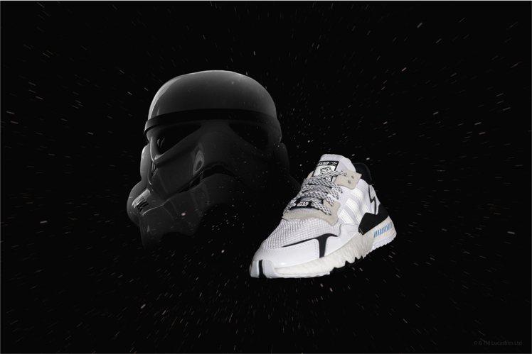 adidas x Star Wars 全新聯名系列NITE JOGGER鞋款(帝...
