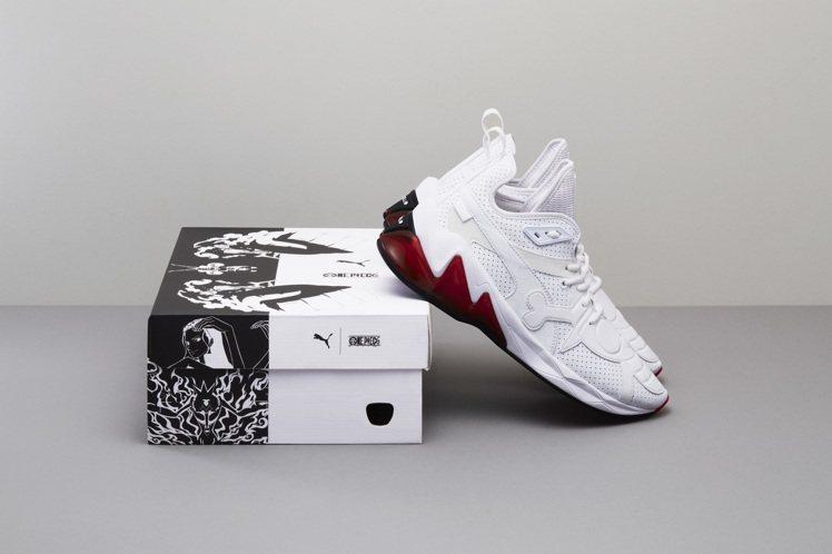 ONE PIECE x PUMA LQDCELL 航海王聯名限定鞋款,建議售價為...