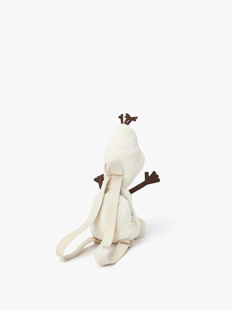 迪士尼《冰雪奇緣 2》雪寶造型背包,售價990元。圖/摘自ZARA
