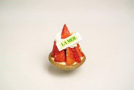 甜點耶誕草莓塔。(圖/台北文華東方酒店提供)