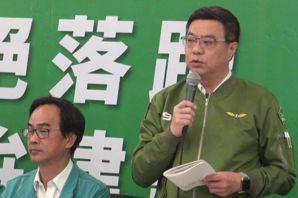 綠行動中常會 卓榮泰批藍:親中聯共階級鬥爭性別歧視