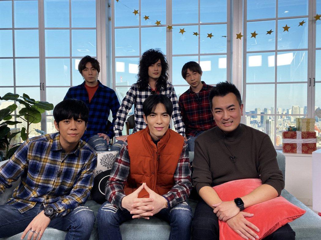 「獅子」全是日本知名YouTuber「老高」(前排右一)的小粉絲。圖/華納提供