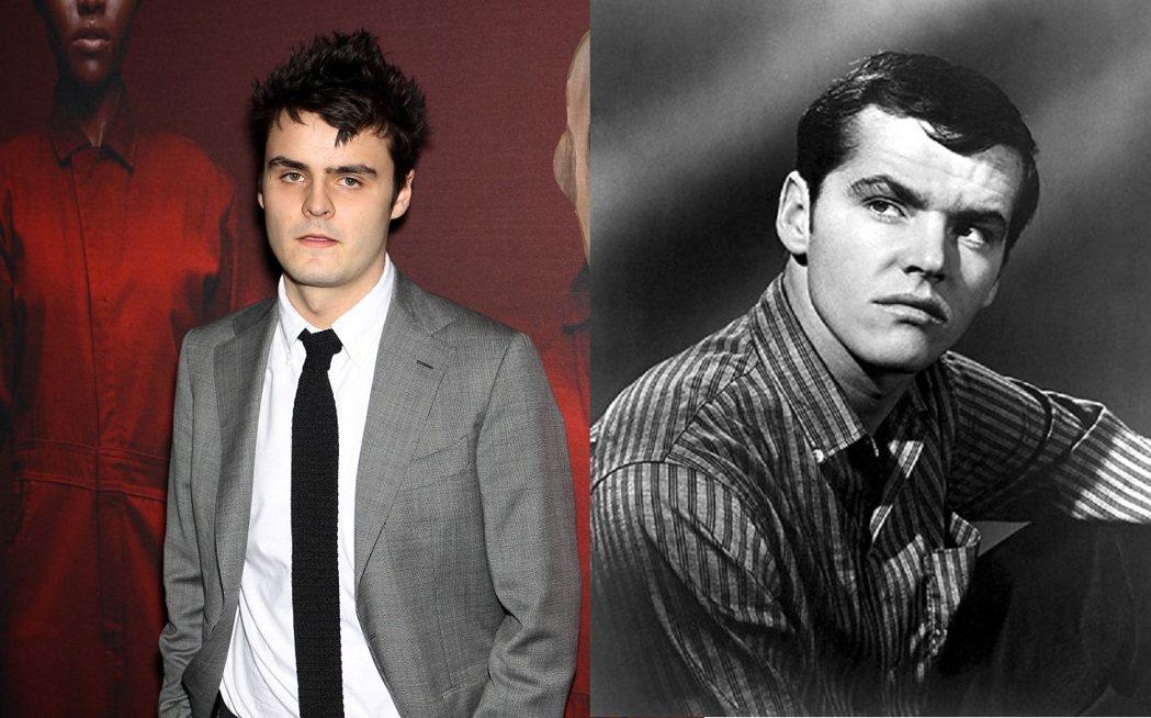 杜克尼柯遜(左)是傑克尼柯遜的外孫。圖/達志影像、imdb