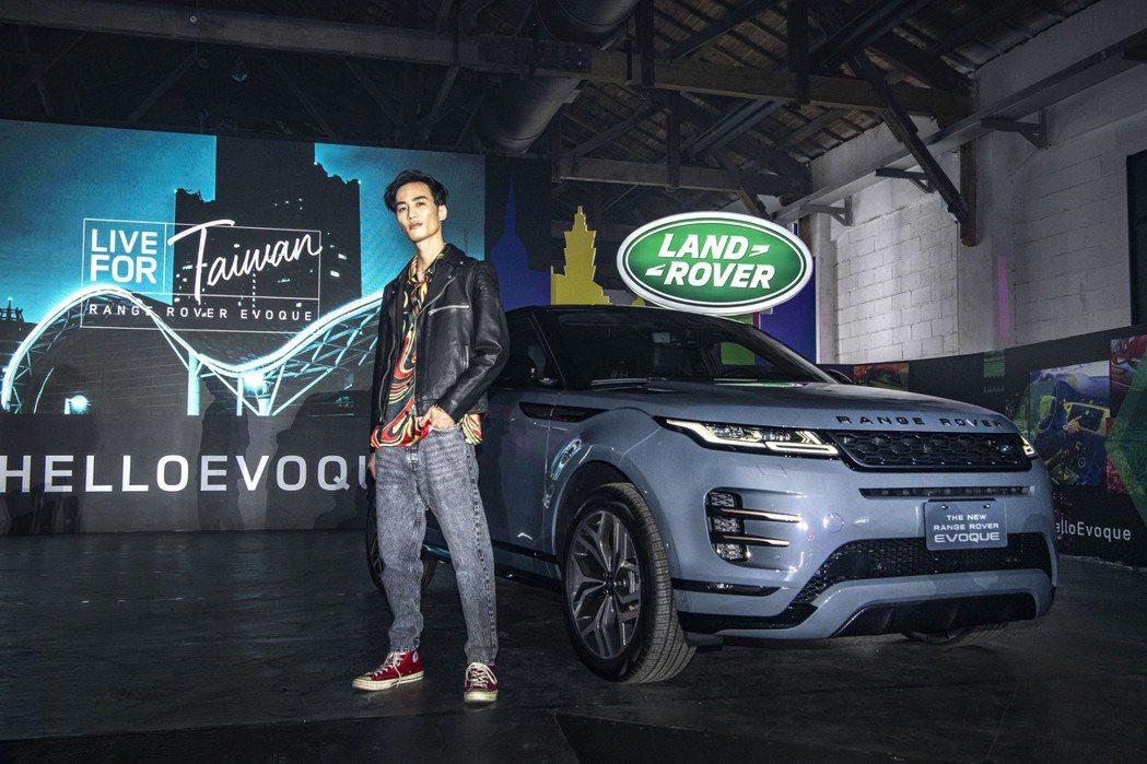 李英宏以百萬價碼為休旅品牌車系品牌代言。圖/LAND ROVER提供