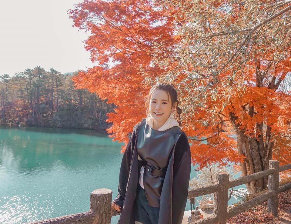 吳心緹擔任日本「只見線」應援大使。圖/傳遞娛樂提供