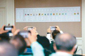 不分區立委19政黨競逐 藍綠拚14席 小黨求突圍