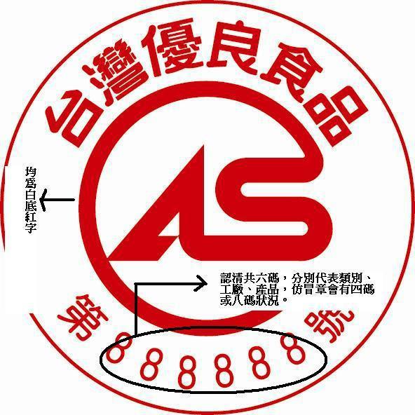 CAS台灣優良食品標章。圖片提供/CAS優良食品發展協會。