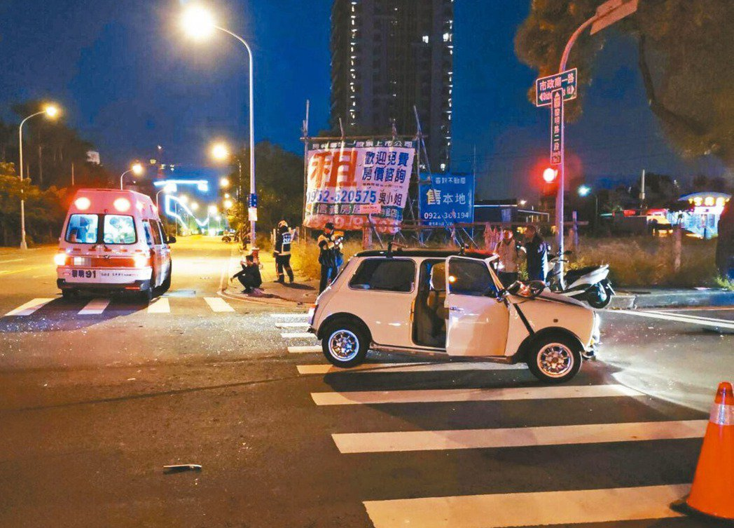 許多用路人不知道交通號誌有一個2秒「淨空時間」,容易發生闖紅燈撞闖紅燈狀況。 記...