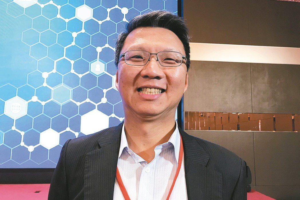 中信金控技術長賈景光 記者陳怡慈/攝影