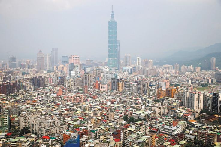 台北市景觀。 報系資料照