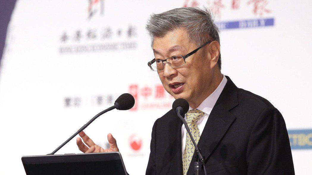 行政院前院長、新世代金融基金會董事長陳冲。 報系資料照