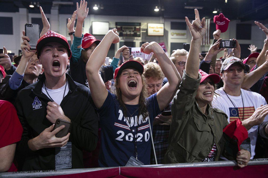 彈劾案的衝擊,也有可能替川普反向助攻、凝聚共和黨人的團結。 圖/美聯社