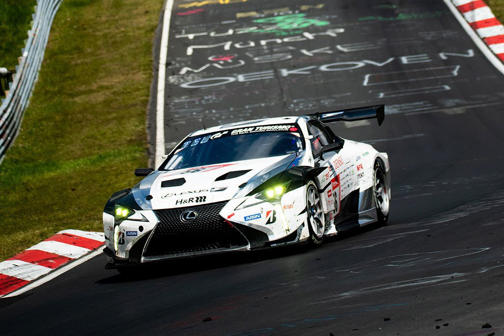 Lexus LC賽車。 圖/Gazoo Racing提供