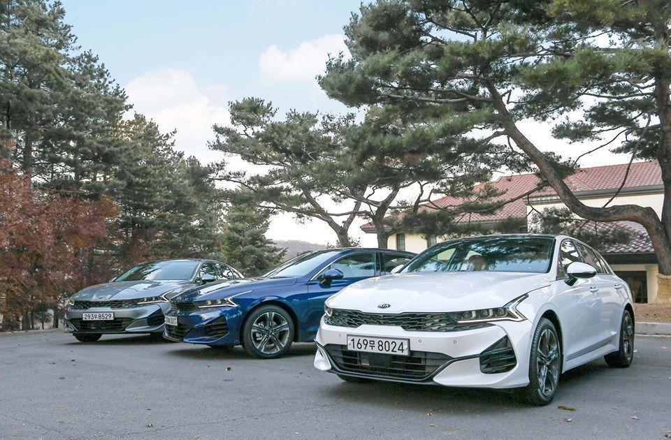 第三代Kia K5目前已於韓國正式上市。 摘自Kia